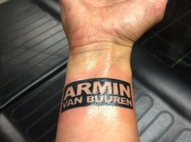 Armin Van Buuren Tattoo Take His Armin Van Buuren
